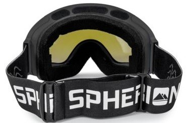 Spherion Gear Ski Goggles back side.
